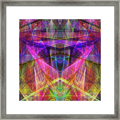 Sixth Sense Ap130511-22-20130616 Square Framed Print by Wingsdomain Art and Photography