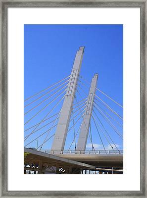 Sixth Street Viaduct Framed Print by Geoff Strehlow