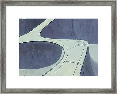 Skate Park Framed Print by Karyn Robinson