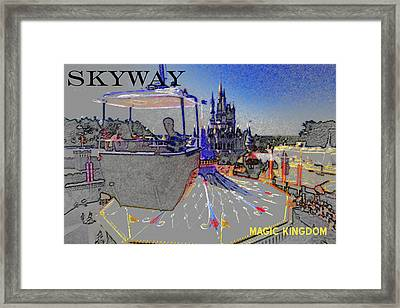 Skway Magic Kingdom Framed Print by David Lee Thompson