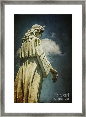 Sky Angel Framed Print by Terry Rowe