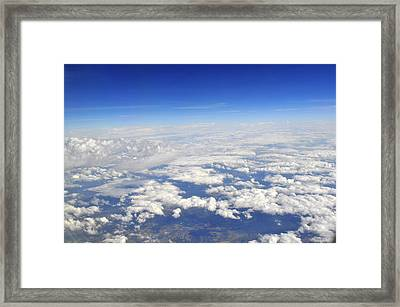 sky Framed Print by Brynn Ditsche