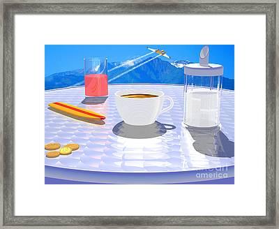 Sky Cafe Framed Print by Andreas Thust
