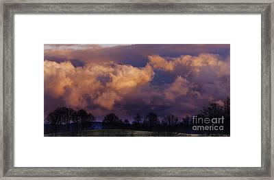 Sky Drama Framed Print by Thomas R Fletcher