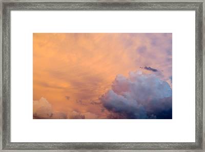Sky Fire 003 Framed Print by Tony Grider