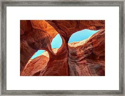 Sky Lights Framed Print by Dustin  LeFevre