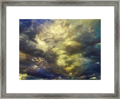 Sky Moods - Abstract Framed Print by Glenn McCarthy Art and Photography