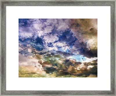 Sky Moods - Sea Of Dreams Framed Print by Glenn McCarthy