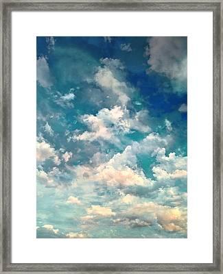 Sky Moods - Refreshing Framed Print by Glenn McCarthy
