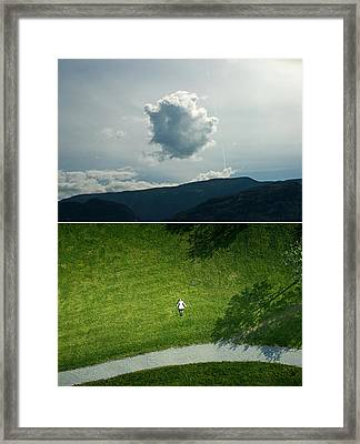 sky Framed Print by Noahlakcus