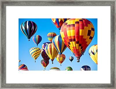 Sky Of Color Framed Print by Shane Kelly