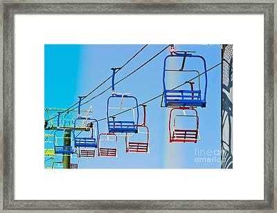 Sky Ride #34 Framed Print by Colleen Kammerer