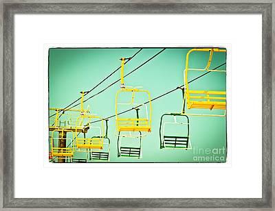 Sky Ride #41 Framed Print by Colleen Kammerer