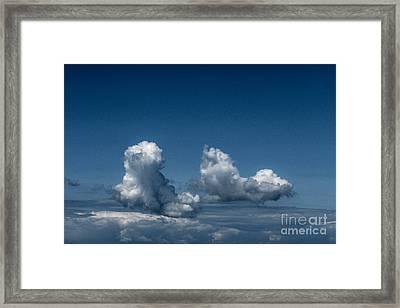 Sky Walking Framed Print by Kim Lessel