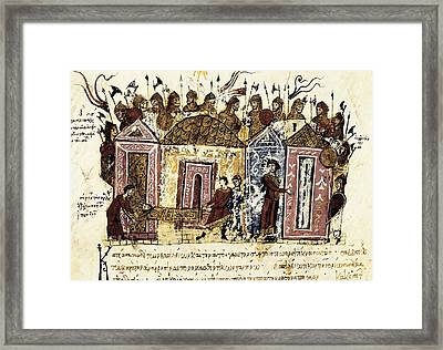 Skylitzer, John 9th Century. Madrid Framed Print by Everett