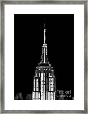 Skyscraper Framed Print by Az Jackson