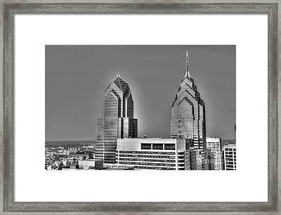 Skyscraping Framed Print by Mark Ayzenberg
