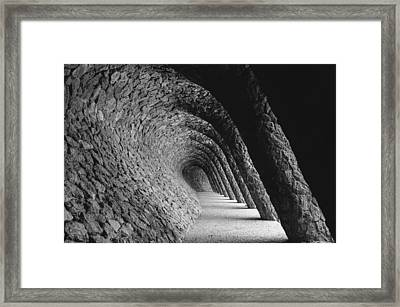 Slanted Framed Print by Jose Vazquez