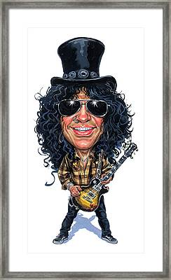 Slash Framed Print by Art