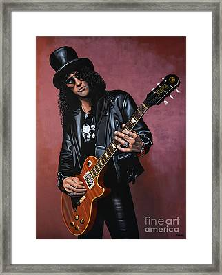 Slash Framed Print by Paul Meijering