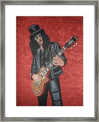 Slash Framed Print by Tammy Rekito