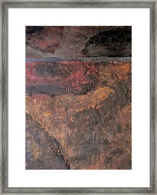 Tile No. 1 Framed Print by Jim Ellis