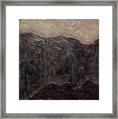 Tile No.6 Framed Print by Jim Ellis