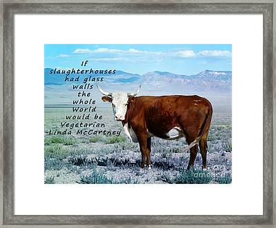 Slaughterhouses Framed Print by Janice Rae Pariza