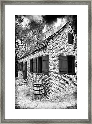 Slave House Framed Print by John Rizzuto