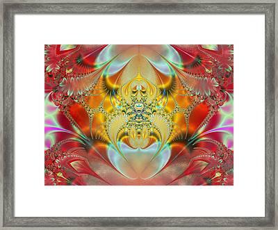 Sleeping Genie Framed Print by Ian Mitchell