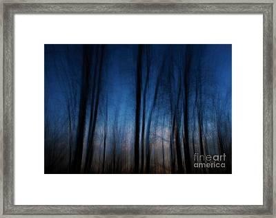Sleepwalking... Framed Print by Nina Stavlund