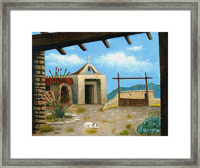 Sleepy Sunday Framed Print by Gordon Beck