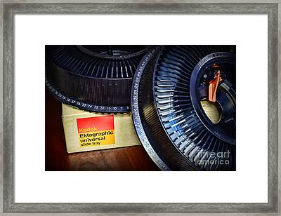 Slide Carousel Framed Print by Paul Ward