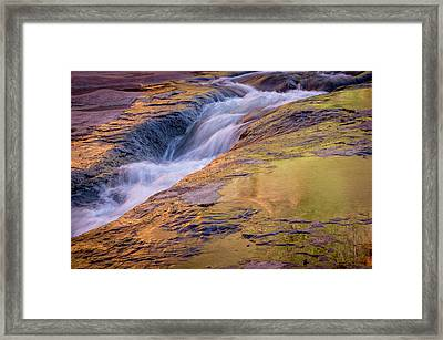 Slide Rock State Park, Oak Creek Framed Print by Rob Sheppard