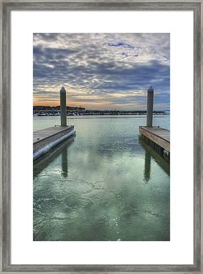 Slip In Framed Print by JC Findley