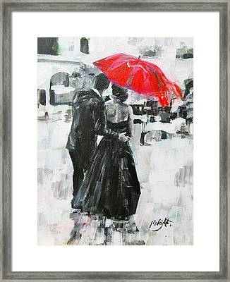 Slipped Away Framed Print by Molly Wright