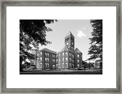 Slippery Rock University Old Main Framed Print by University Icons