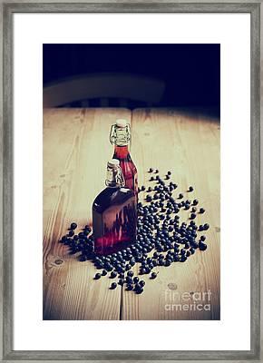 Sloe Gin Framed Print by Tim Gainey