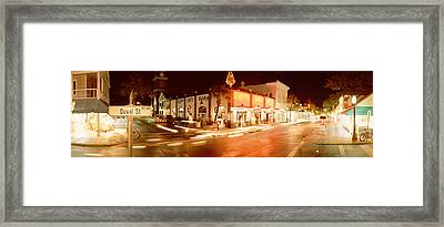 Sloppy Joes Bar, Duval Street, Key Framed Print by Panoramic Images