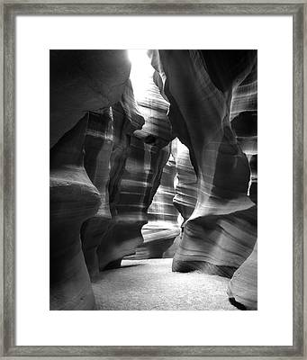 Slot Canyon 1 Framed Print by Mike McGlothlen
