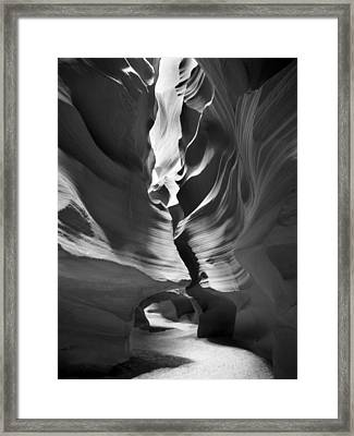 Slot Canyon 4 Framed Print by Mike McGlothlen