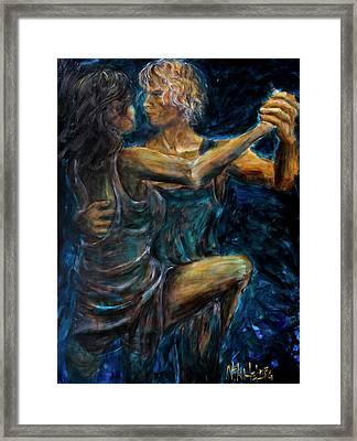 Slow Dancing II Framed Print by Nik Helbig