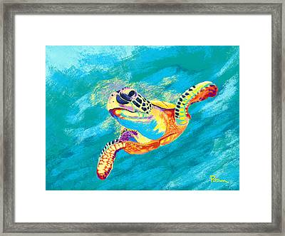 Slow Ride Framed Print by Kevin Putman