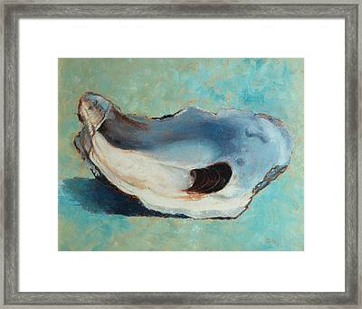Slurp Framed Print by Pam Talley