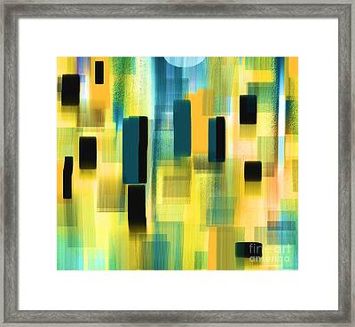 Small Places Framed Print by Hilda Lechuga