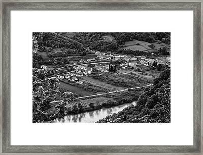 Small Village Framed Print by Oleksandr Maistrenko