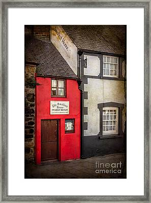 Smallest House Framed Print by Adrian Evans