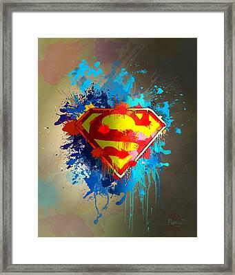 Smallville Framed Print by Anthony Mwangi