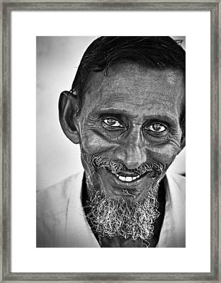 Smile Framed Print by Andrea Timillero