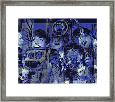 Smile For The Camera Framed Print by Russell Pierce